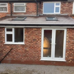 Rear house extension Whitehall Builders