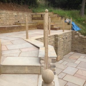 Patio Landscaping Whitehall Builders