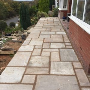 Patio stonework Whitehall Builders