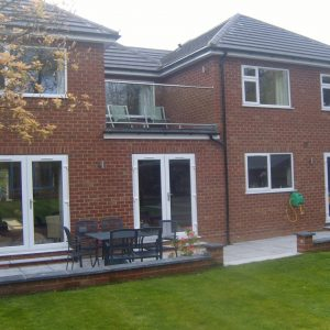 Large house extension Whitehall Builders