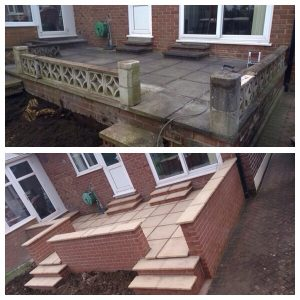 Outside Patio Whitehall Builders